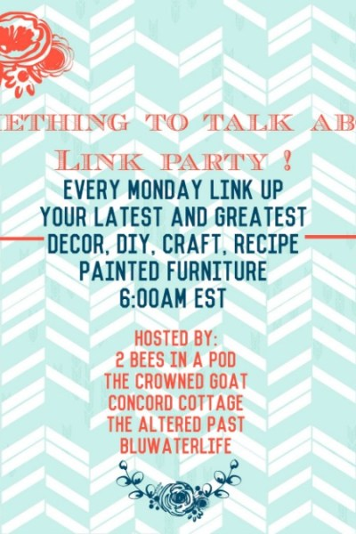 Something to Talk About Link Party #3