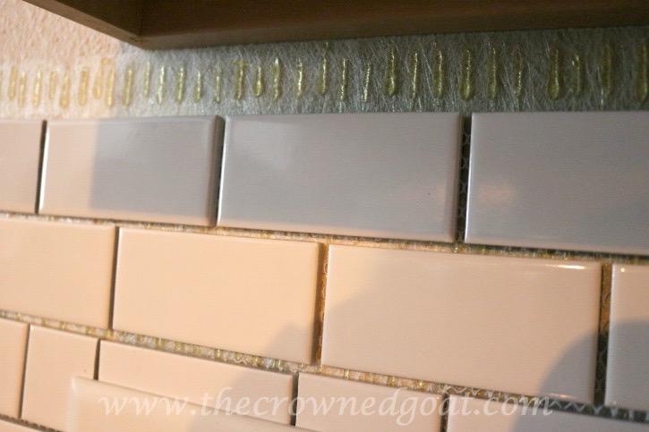 030315-12 Kitchen Diaries: Subway Tile Backsplash Grout Day 2 DIY