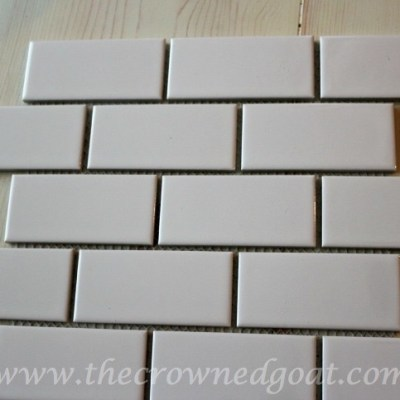 Kitchen Diaries: Subway Tile Application Day 1