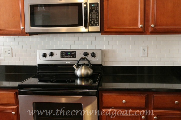 030415-10 Kitchen Diaries: Subway Tile Backsplash Grout Day 2 DIY