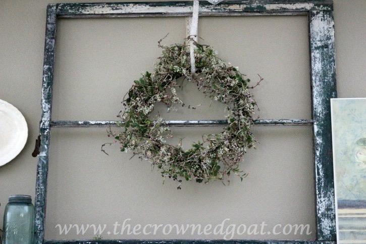 031715-3 Spring Inspired Mantle Decorating Holidays