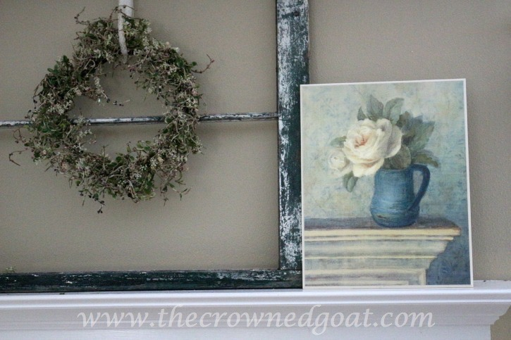 031715-5 Spring Inspired Mantle Decorating Holidays