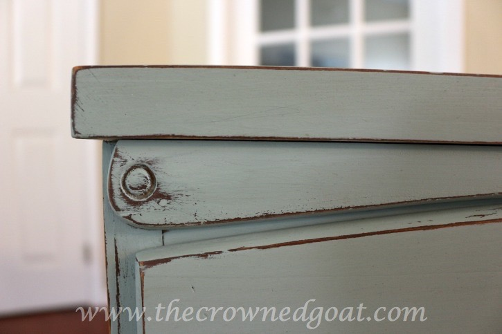 031815-5 Sea Glass Inspired Dresser Makeover Painted Furniture