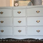Sea Glass Inspired Dresser Makeover