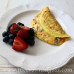 Easy to Make Veggie & Herb Omelet