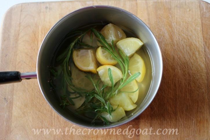 032715-8 Lemon and Lavender Mason Jar Simmer Pot DIY