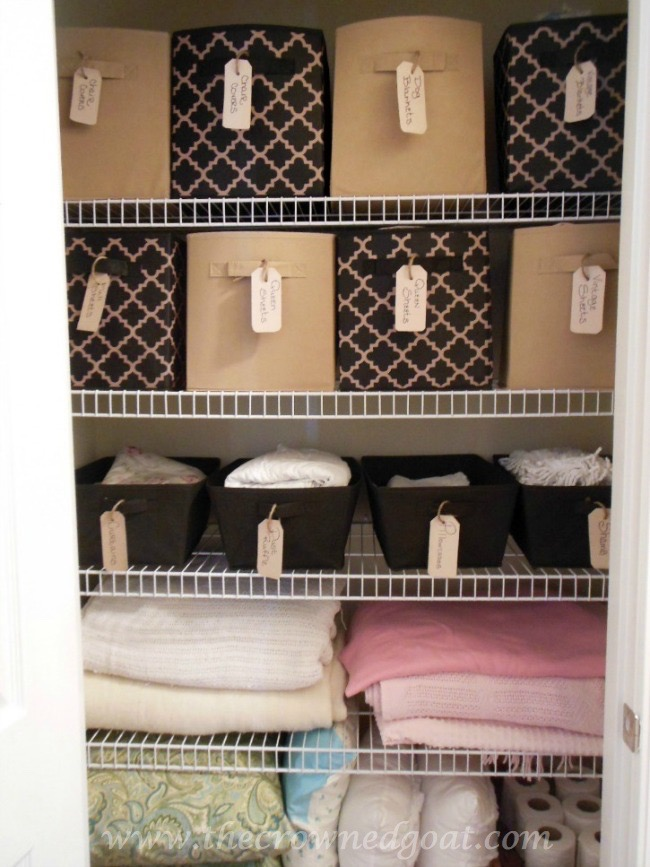 Budget-Friendly-Linen-Closet-Ideas-102214-12 Pantry Organization: One Year Later Organization