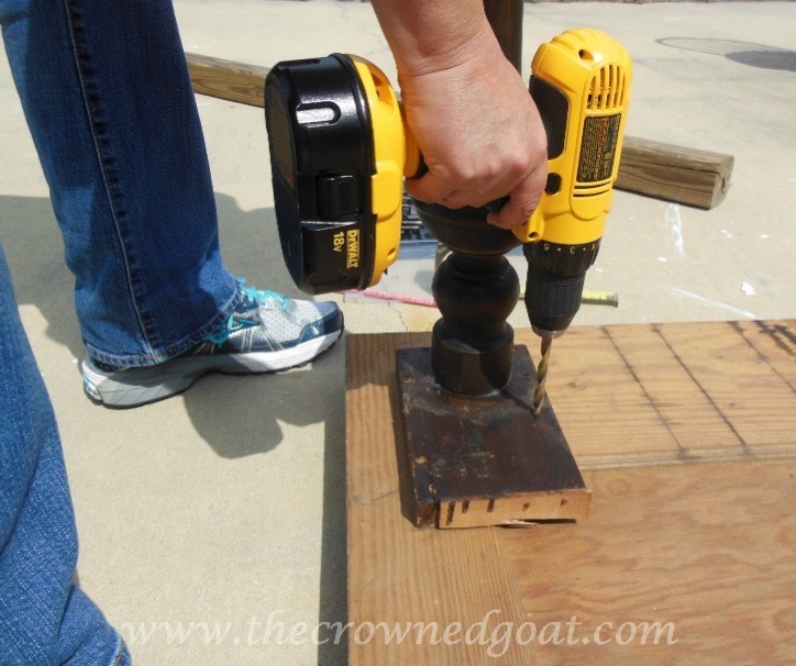 041615-3 How to Create a Console Table from an Old Door DIY Painted Furniture