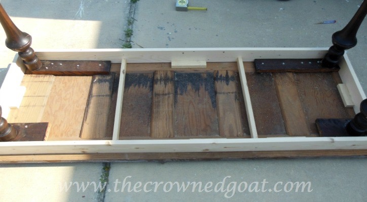 041615-5 How to Create a Console Table from an Old Door DIY Painted Furniture