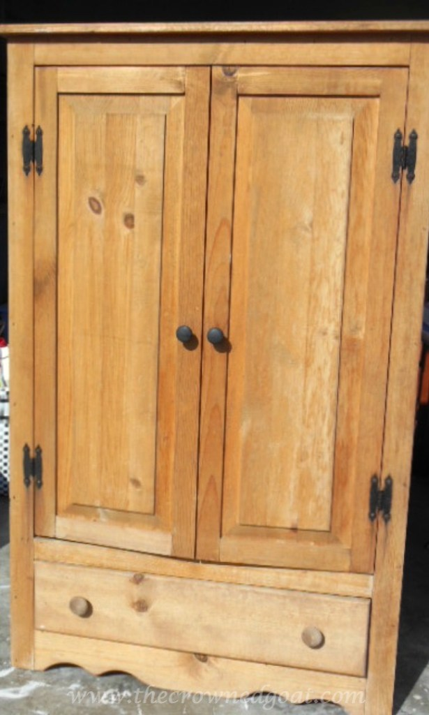 052115-1-615x1024 Annie Sloan Chalk Duck Egg Painted Cabinet Painted Furniture
