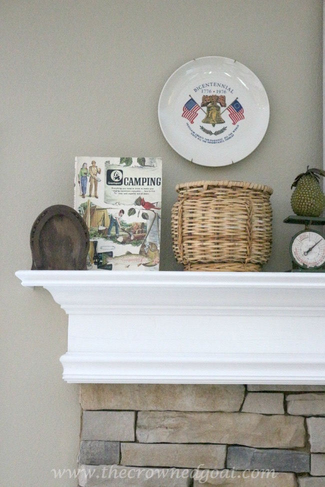 052615-3 Cabin Inspired Summer Mantel Decorating
