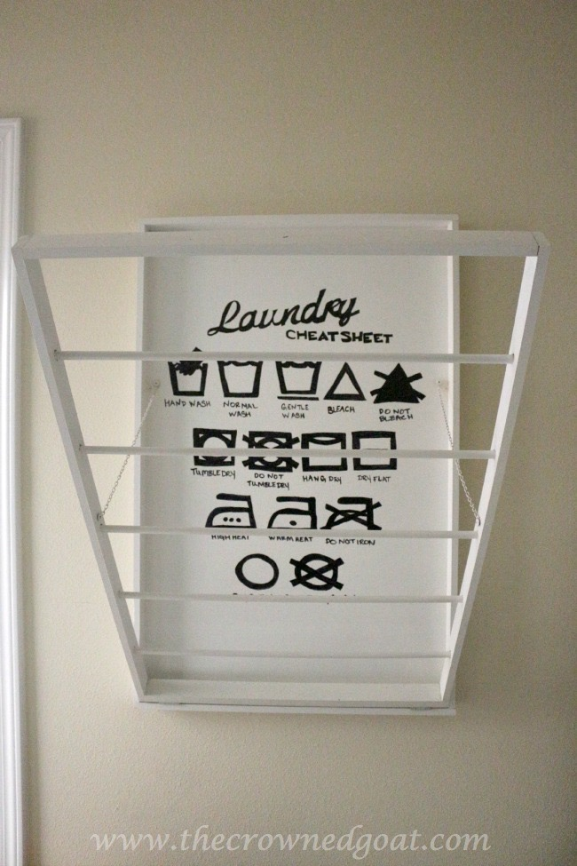 Indoor-Drying-Rack-The-Crowned-Goat-051315-15 Indoor Drying Rack for the Laundry Room DIY