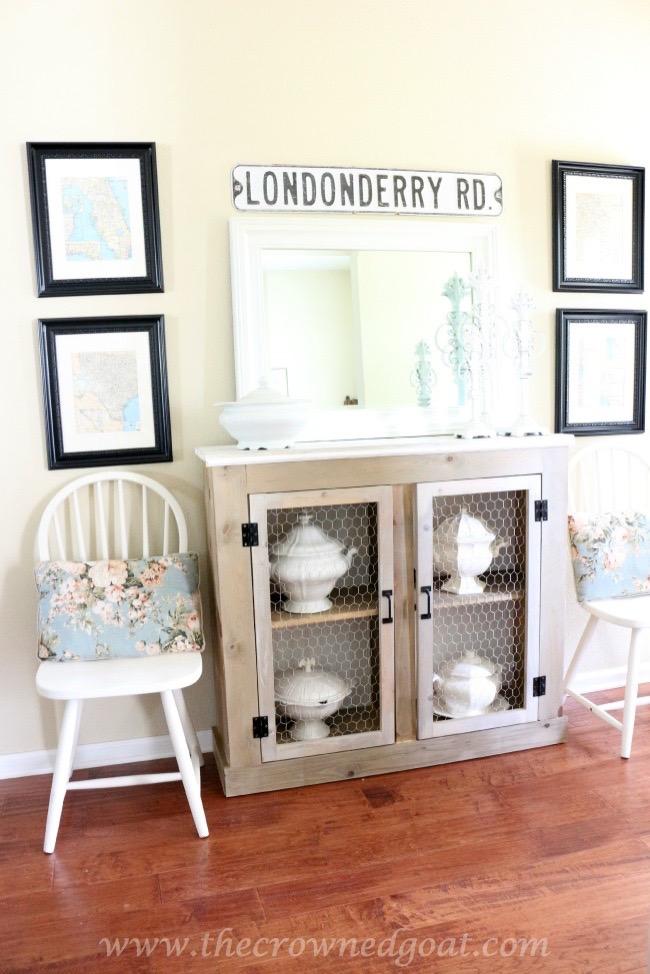 060915-3 Three Drawer Dresser Makeover Painted Furniture