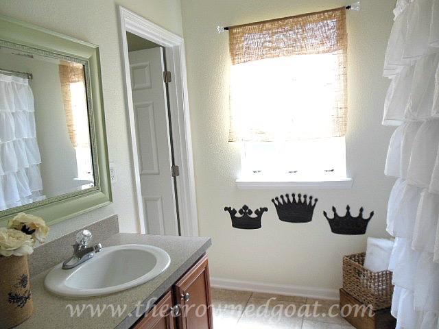 Bathroom Quick Makeover bathroom makeover reveal