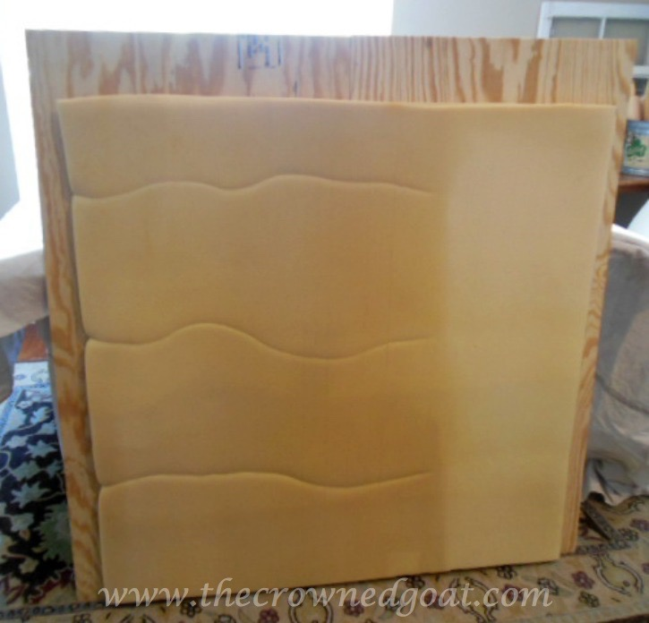 How-to-Make-a-Headboard-from-an-Old-Mantel-The-Crowned-Goat-062515-4 How to Make a Headboard From an Old Mantel DIY
