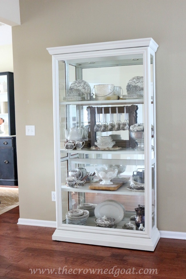 Restyled-China-Cabinet-The-Crowned-Goat-062315-4-Copy Other Changes Around the House Decorating