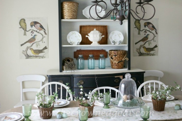 Spring Inspired Dining Room - The Crowned Goat - 061915-3