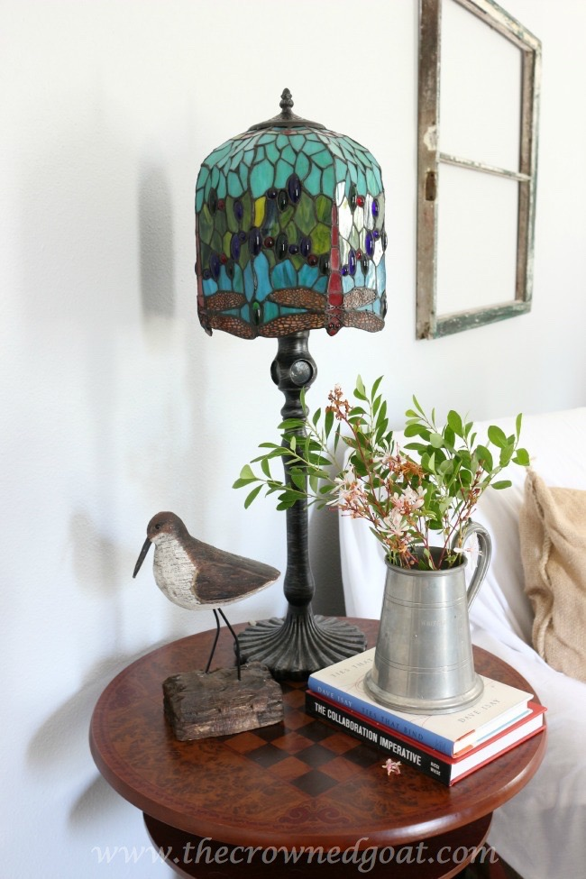 Styling-a-Bedroom-Side-Table-The-Crowned-Goat-061915-10 Bedroom Makeover Decorating