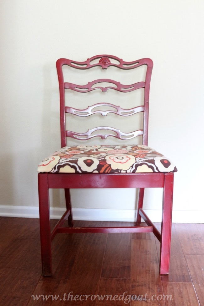 Coastal Inspired Chair Makeover - The Crowned Goat -070715-1
