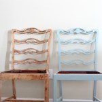 Coastal Inspired Chair Makeover