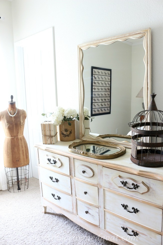 Neutrals Inspired Bedroom Makeover - The Crowned Goat - 071615-11