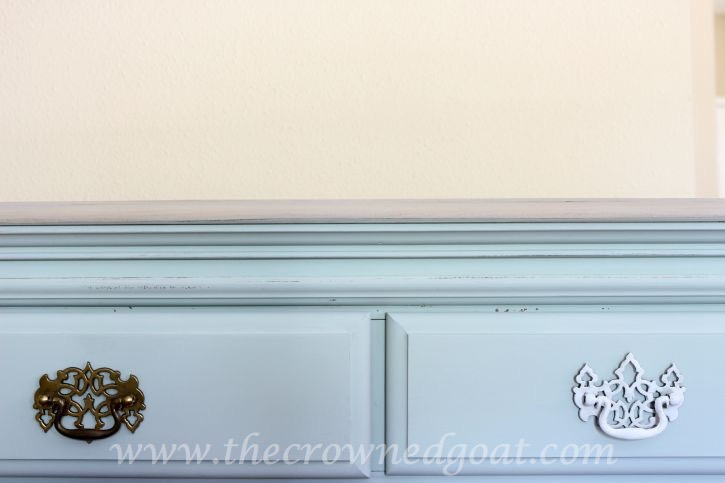 081315-14 Duck Egg Painted Dresser Painted Furniture