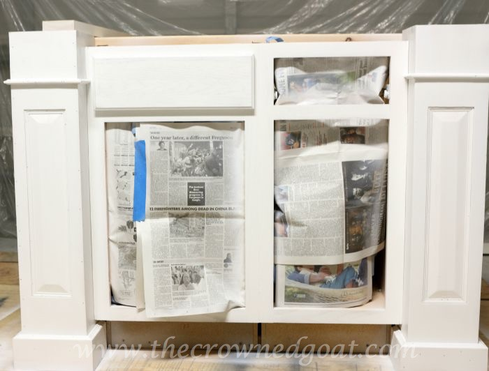 082515-21 Painting a Kitchen Island with the HomeRight Finish Max Sprayer DIY