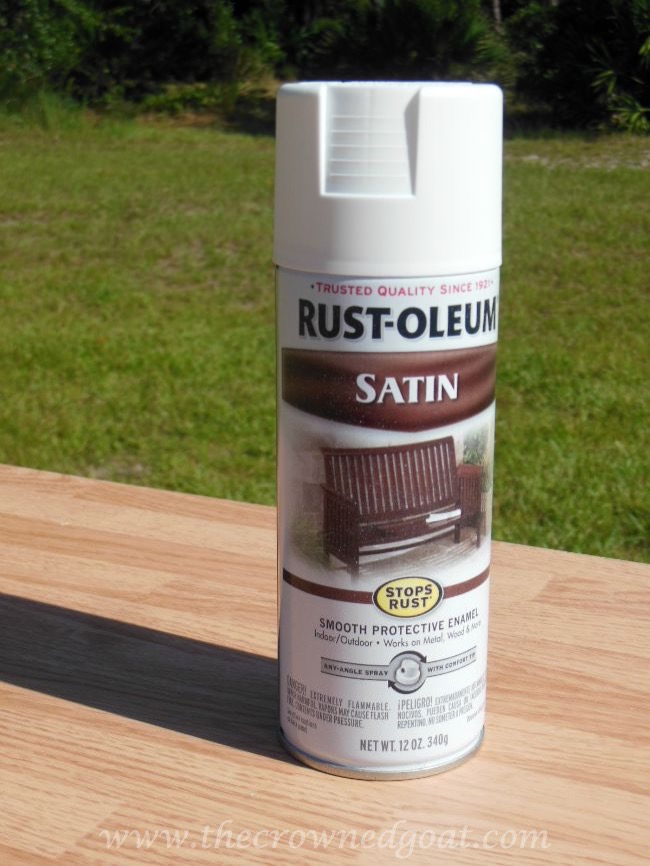082714-4 Rust-oleum Painted Table and Bar Stools Painted Furniture