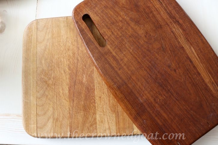 090915-16 How to Clean and Restore Vintage Cutting Boards DIY