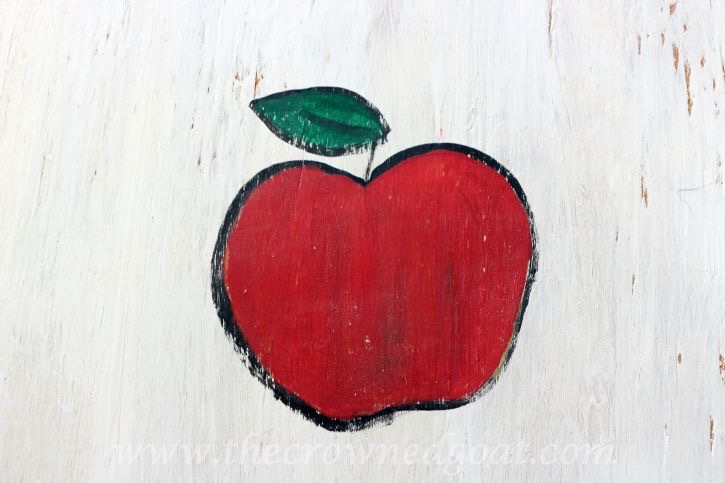 091015-10 Creating a Vintage Inspired Apple Picking Sign Crafts DIY