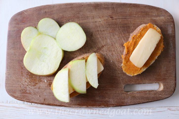 091115-5 Fall Inspired Honeycrisp Apple Panini Fall Holidays