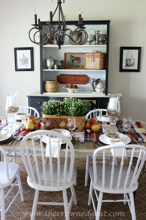 091515-10 Fall Inspired Dining Room Decorating Fall Holidays