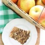 Baked Apple Butterscotch Bars