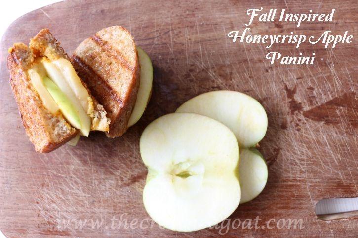 Fall-Inspired-Honeycrisp-Apple-Panini-The-Crowned-Goat Fall Inspired Honeycrisp Apple Panini Fall Holidays