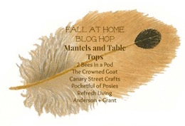 Fall-at-Home-blog-hop Fall Inspired Dining Room Decorating Fall Holidays