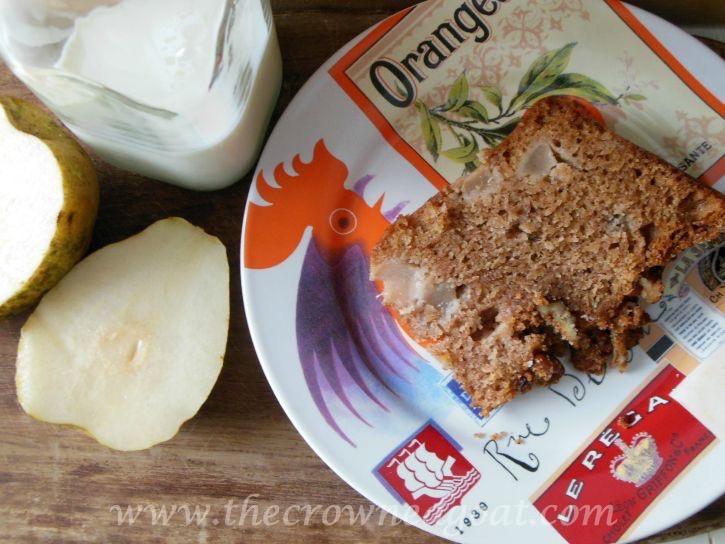 Pear Streusel Coffee Cake - 090415-12