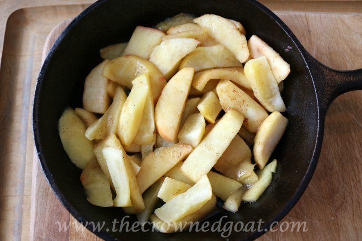 Salted-Caramel-Apple-Skillet-091815-5 Salted Caramel Apple Skillet Baking