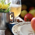 Autumn Apple Inspired Tablescape