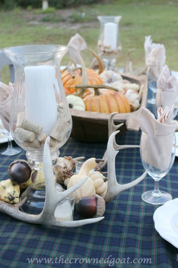 102215-15 Outdoor Entertaining: Fall Inspired Back Patio Decorating Fall Holidays