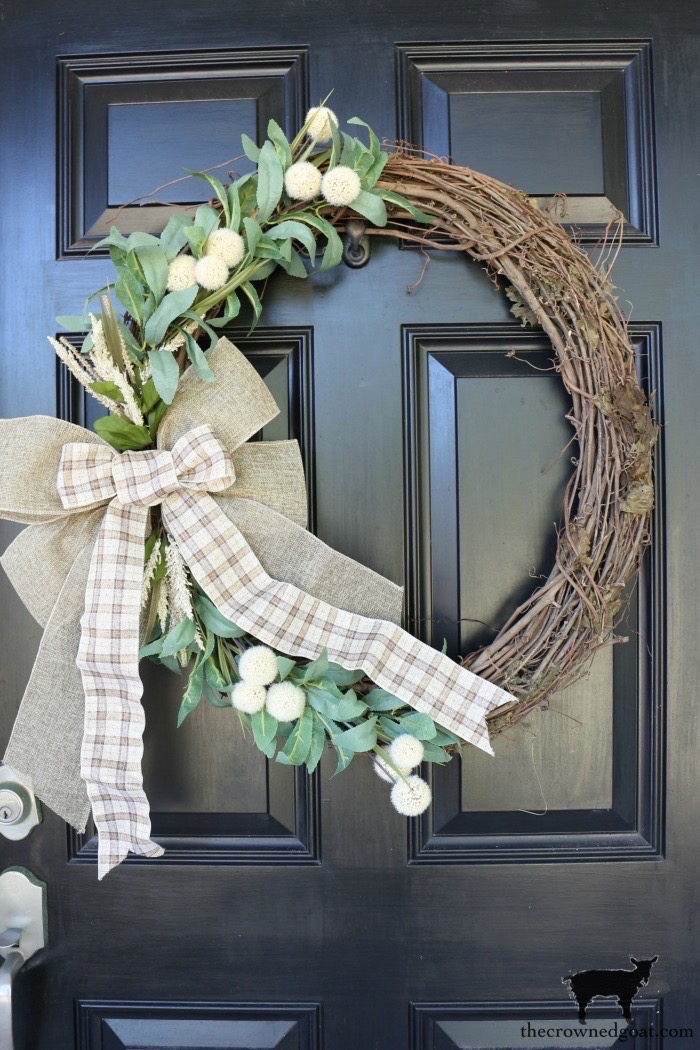 Fall-Grapevine-Wreath-The-Crowned-Goat-13-copy Fall Inspired Front Door Décor Fall Holidays