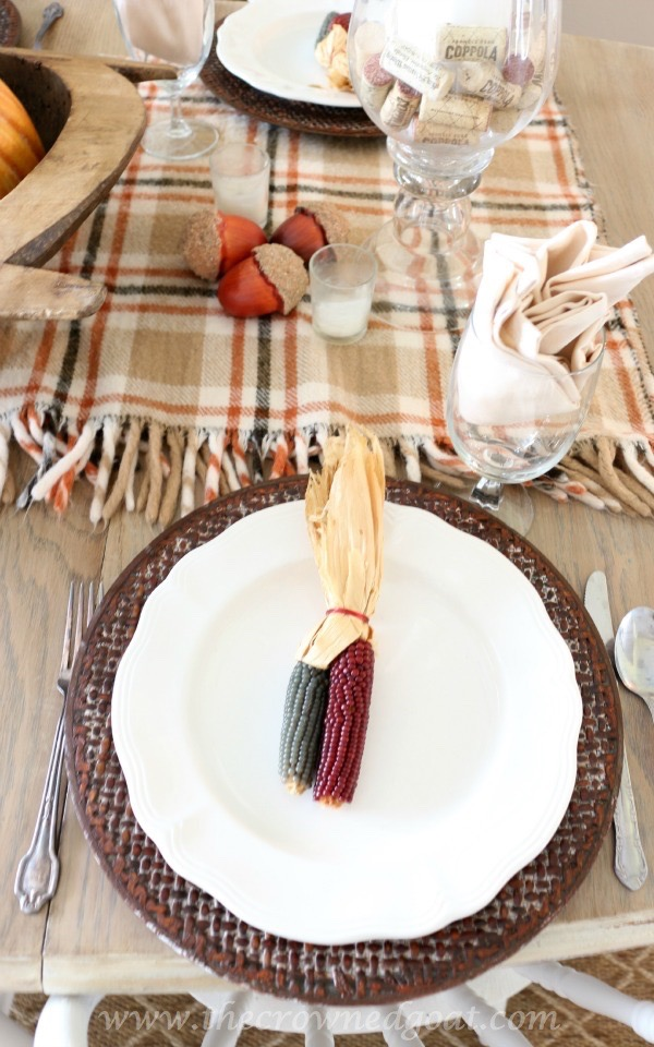 110515-4 Thanksgiving Inspired Tablescape Decorating Holidays