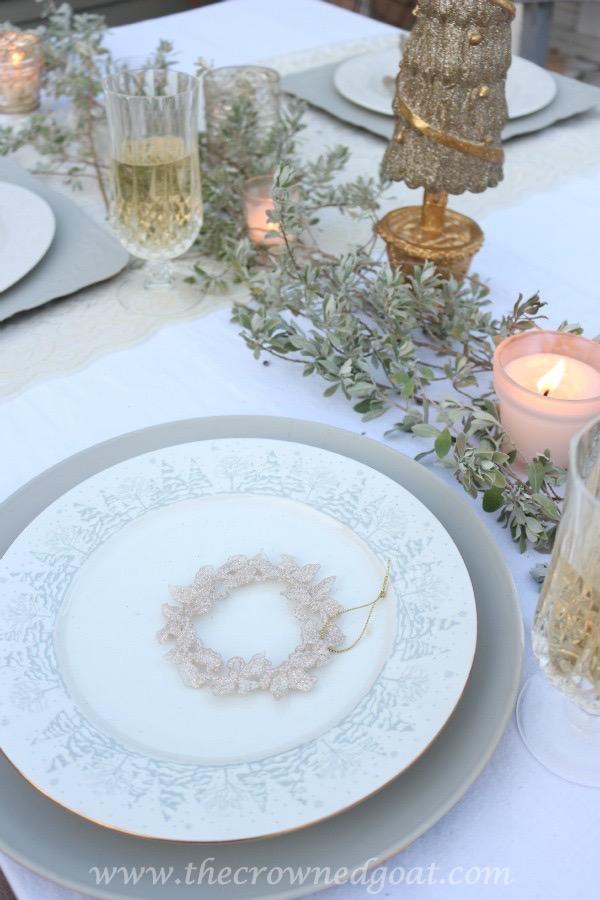 120315-5 White Christmas Inspired Patio Christmas Decorating Holidays