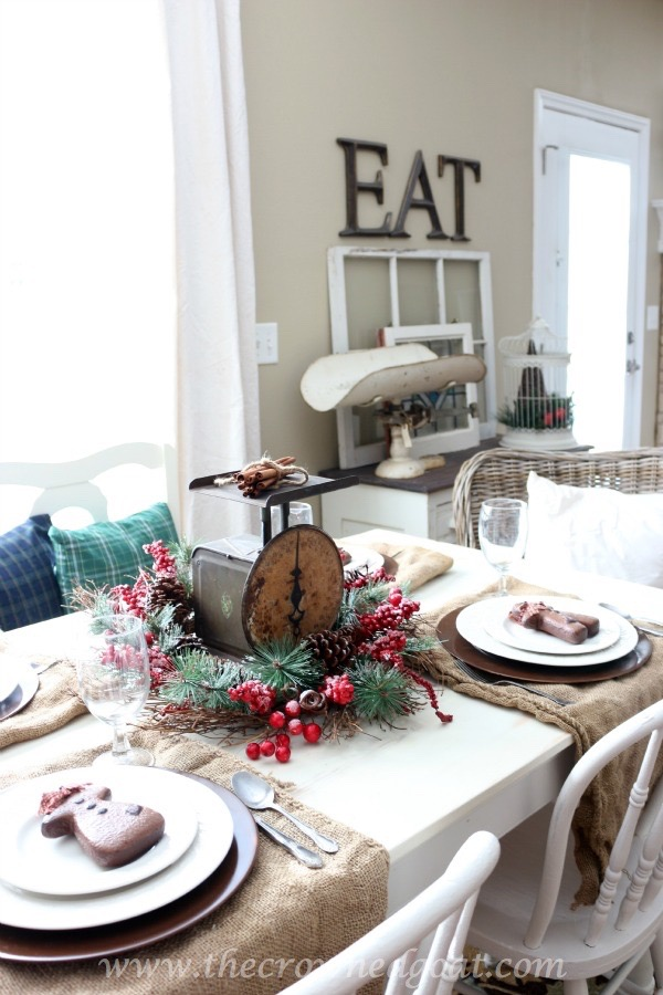 121515-6 Last Minute Holiday Tablescape Ideas Christmas Decorating Holidays