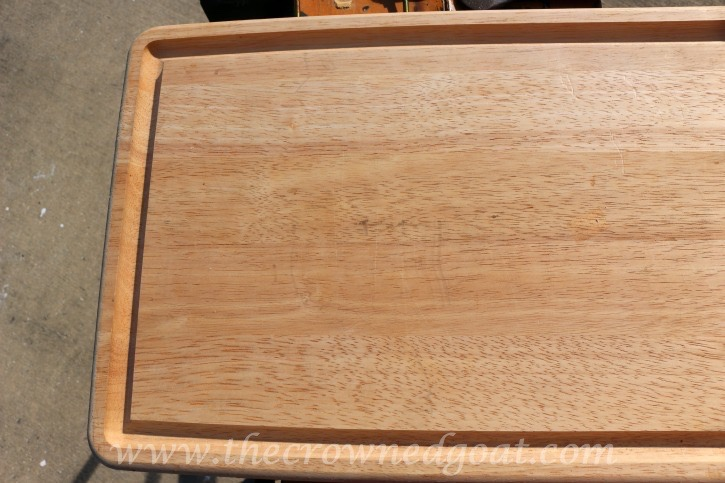 121615-1 How to Make a Serving Tray From a Breadboard Crafts DIY