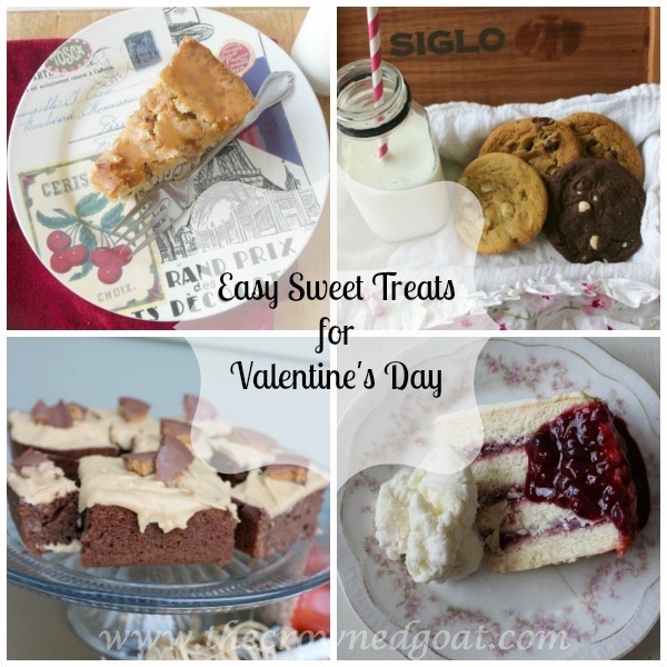 Easy Sweet Treats for Valentine's Day Pinnable