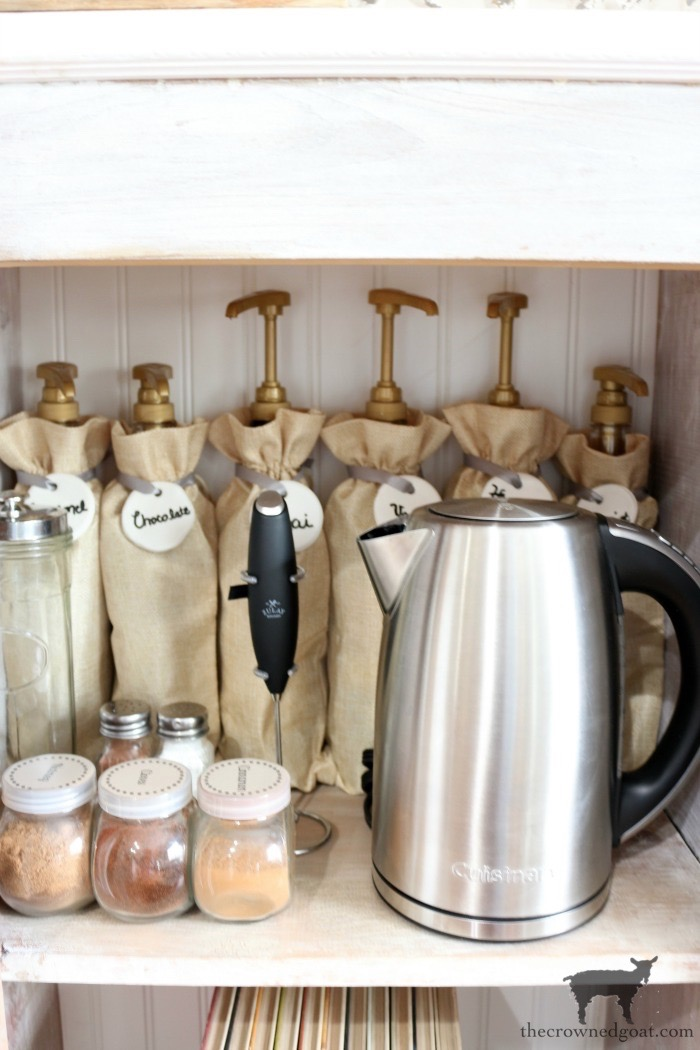 Indoor-Coffee-Station-Updates-The-Crowned-Goat-11 Indoor Coffee Station Updates Decorating DIY Organization