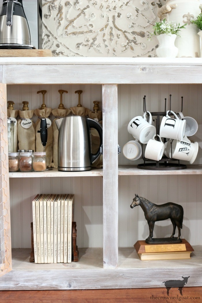 Indoor-Coffee-Station-Updates-The-Crowned-Goat-15 Indoor Coffee Station Updates Decorating DIY Organization