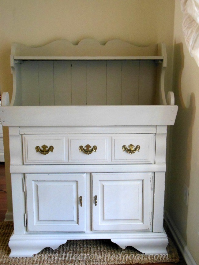 030816-2 Laundry Room Folding Station Decorating Painted Furniture