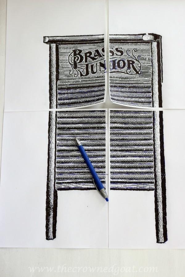 030916-10 How to Create Laundry Room Art DIY