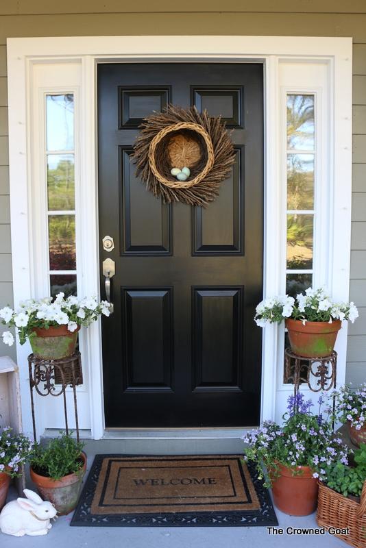 031616-1 Spring Porch Tour Decorating DIY Holidays